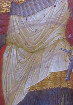 И Byzantine Icons, Byzantine Art, Saints And Soldiers, Icon Clothing, Paint Icon, Creativity Exercises, Best Icons, Orthodox Icons, Art Tutorials