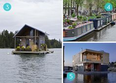 Eye Candy: 10 Amazing Houseboats From Around the World » Curbly | DIY Design Community