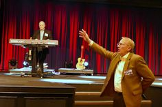 PCCNA President Jeff Farmer opens a meeting with prayer. Assemblies of God Assistant General Superintendent Alton Garrison led worship for the meeting. Assemblies Of God, Farmer, Worship, Dallas, Presidents, Led, Farmers