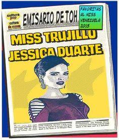 Misses y el universo paralelo del mundo del cómic. Jessica Duarte es @MissVTrujillo #online  http://khandika01.blogspot.com/2015/08/miss-trujillo-2015-jessica-duarte.html…