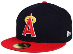 new style 0b11f b3c4e Los Angeles Angels New Era MLB Cooperstown 59FIFTY Cap