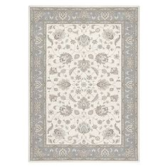 Buy Ivory John Lewis Woburn Ziegler Rug from our Rugs range at John Lewis. Rugs Online, First Home, Colour Schemes, John Lewis, Wool Rug, Oriental, Ivory, Stuff To Buy, Blue