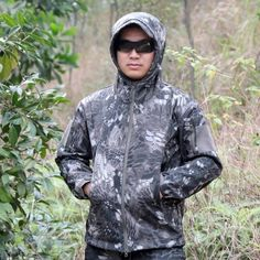 (31.57$)  Watch now - http://aith3.worlditems.win/all/product.php?id=Y1799CF2-XXL - Combat Outdoors Jacket Men Sport Water-resistant Hunting Clothes Windproof Jacket for Autumn & Winter