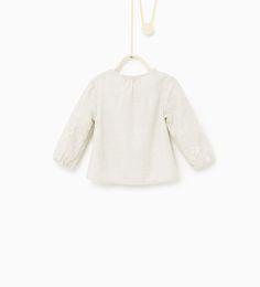 ZARA - KIDS - Embroidered shirt