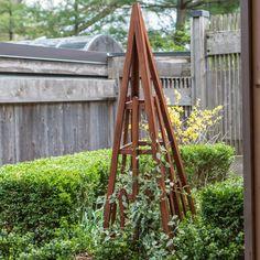 Have to have it. Coral Coast Halstead Wood Obelisk - $99.99 @hayneedle