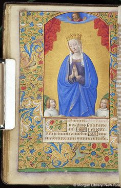 Book of Hours, MS M.291 fol. 47v - Images from Medieval and Renaissance Manuscripts - The Morgan Library & Museum
