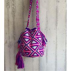Wayuu Mochila bag purple 🍇▫️🔹#classy #accessories #style #musthave #fashionblogger #fashion #girl #girly #instafashion #loveit #followme #beautiful #glam #outfit #pretty #prettygirl #chilabags
