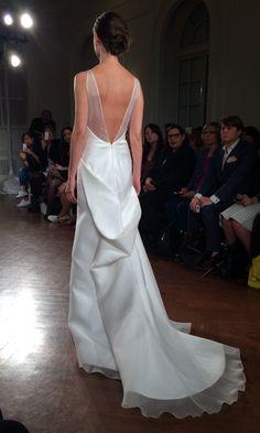 Bridal Dress by Peter Langer - Spring 2015