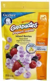 HOMEMADE yogurt melts for baby! So much cheaper and healthier than graduates yogurt melts
