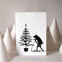 Cute Christmas card alert! Why we've fallen for the animal motifs at HAM