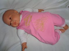 JanuarTraum Baby Newborn Strampler Gr. 50 -56 von me Kinderkleidung und ersatzbezuege auf DaWanda.com