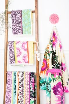 Want to refresh your Home Decor but have no time? New towels and DIY-inspired hangers will do the trick!