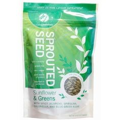 Living Intentions Sprouted Seed  Sprouts significantly boost fat loss and rev up your energy.  They are loaded with with fat-digesting enzymes, vitamins, minerals, protein & fiber.  Wash before using.