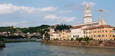 Verona dal Ponte Garibaldi (Verona, Italy)