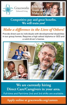 We're always looking for amazing caregivers. No experience needed.
