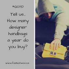 Instagram post from @fashionwoo.ca follow us! #QOTD #fashionwoo #preowned #authentic #onlinestore Best Instagram Posts, Stuff To Buy