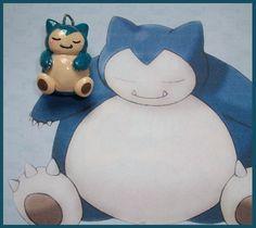 Chibi-Charms: Pokemon Snorlax by ~MandyPandaa on deviantART