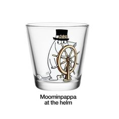 The Moominpappa at the Helm Glass from Iittala depicts one of the well-known and loved characters from Tove Jansson's Moomin tales. In this picture, Moominpappa is sailing. Combine with other Moomin character glasses and mugs. Scandinavian Living, Scandinavian Design, Moomin Mugs, Tove Jansson, Moomin Valley, Swedish House Mafia, Plates And Bowls, Lassi, Deco Table