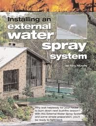 Roof Sprinkler System Could Save Homes From Wildfires