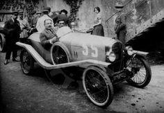 LE MANS 1923 - Amilcar #35 -  Maurice Boutmy - Jérôme Marcandanti