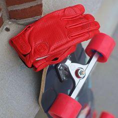 Sector 9 Driver II Red Slide Gloves