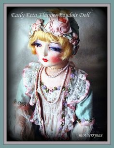 Early Etta Flapper Boudoir Doll | Flickr - Photo Sharing!