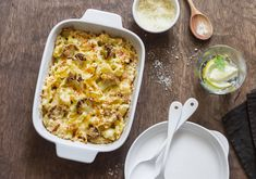 We're on a mission to make mac n' cheese an option on a low-carb menu. This stealthily healthy spin on everyone's American favorite subs cauliflower for pasta; heavy cream & cheddar cheese will leave mouths watering. Serve it as an awesome. Low Carb Menus, Low Carb Recipes, Healthy Recipes, Fun Recipes, Cauliflower Mac And Cheese, Cauliflower Ideas, Cauliflower Casserole, Macaroni Cheese, Mac Cheese