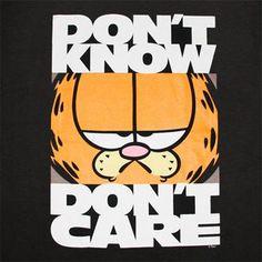 Garfield being cranky