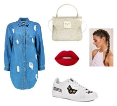 """shop day 2"" by isabelvsacre on Polyvore featuring Boohoo and Furla"