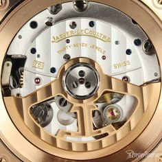 Jaeger LeCoultre Polaris Chronograph Reference #9022450 Review   #jlc #jaegerlecoultre #luxurywatches #jlcpolaris #rosegold #watches Jaeger Lecoultre Watches, Luxury Watches, Chronograph, Rose Gold, Jewels, Leather, Watches, Fancy Watches, Bijoux