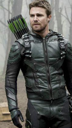 Arrow, Flash, Legends and Supergirl Oliver Queen Arrow, Clint Barton, Teenage Mutant Ninja Turtles, New Girl, Arrow Flash, Arrow Tv Series, Arrow Serie, Leather Men, Leather Jacket