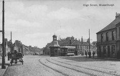 High Street, Musselburgh (Postcard)   Kenneth G Williamson   Flickr My Heritage, Nottingham, Edinburgh, Google Images, Louvre, Street View, Explore, Building, Scotland