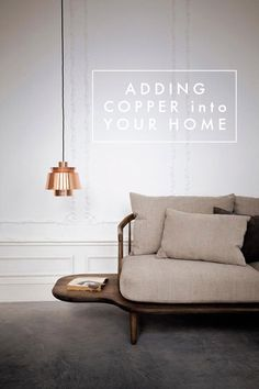 Adding Copper into Your Home