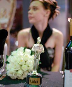 Oscar awards - name cards