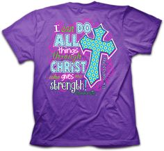 Cherished Girl I Can Do All Things Christian T-Shirt