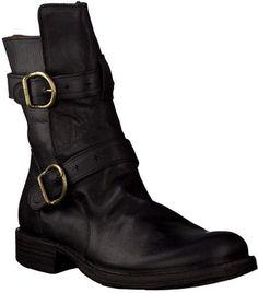 Fiorentini + Baker Biker-Boots 142530 (Schwarz)