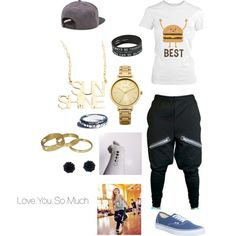 A fashion look from January 2015 featuring Vans sneakers, Jennifer Zeuner necklaces and Oasis watches. Browse and shop related looks.