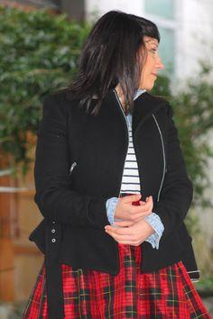scottish skirt #scottish #plaid #skirt #fashion #fashionblogger  #trends