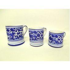 Deruta Arabesco Blue Mug