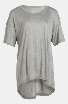 Leith Oversized High/Low Tee | Nordstrom
