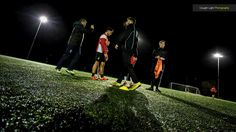 Training on a cold winter's night