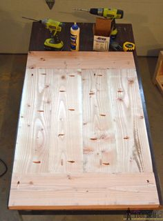 Step 12 crate table join top