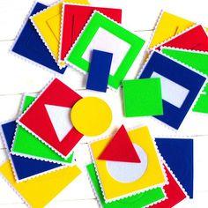 Восхитительная в своей простоте и многообразии игра для знакомства с цветами и формами 16 карточек 10*10 см 4⃣ цвета 4⃣ геометрических фигуры 1199 Скоро на сайте leapl.toys