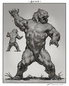 Monster Concept Art, Fantasy Monster, Monster Art, Mythical Creatures Art, Mythological Creatures, Fantasy Creatures, Creature Concept Art, Creature Design, Dark Fantasy Art