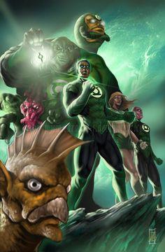Hal Jordan and the Lantern Corps