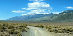 Panorama:  NE of CALIF HWY 395 ON HWY 6 TO CHALFANT, CA    From Bishop, CA          (Off Road Trail) any car!