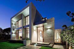 Beautiful australian home facade