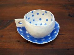 Stoneware cup and saucer coffee cup tea cup by Imuusk on Etsy
