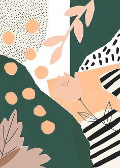 002 laura inat art // prints in 2019 illustration art, pattern art, pattern Illustration Inspiration, Illustration Art, Vector Illustrations, Pattern Vegetal, Cute Wallpapers, Wallpaper Backgrounds, Iphone Wallpapers, Boho Backgrounds, Posca Art