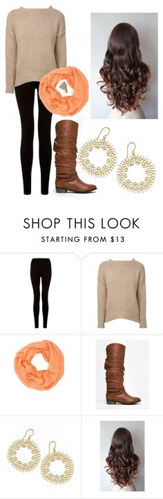 """""""Fall outfit"""" by ohkally ❤ liked on Polyvore featuring Anine Bing, Cara Accessories, Steve Madden and YooLa"""